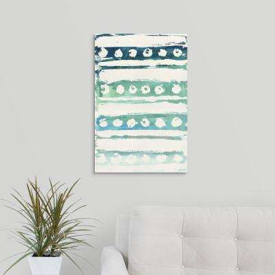"""Watercolor Pattern VI"" by  Elizabeth Medley Canvas Wall Art"