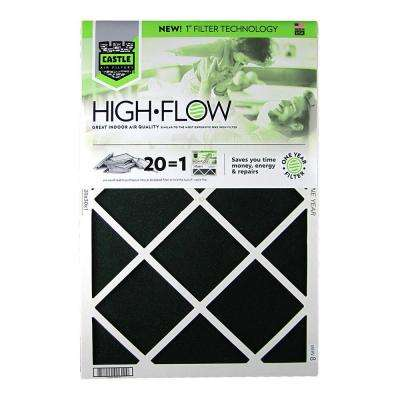 20 in. x 30 in. HVAC Air Filter - FRP 8 1 Year High Flow Filter