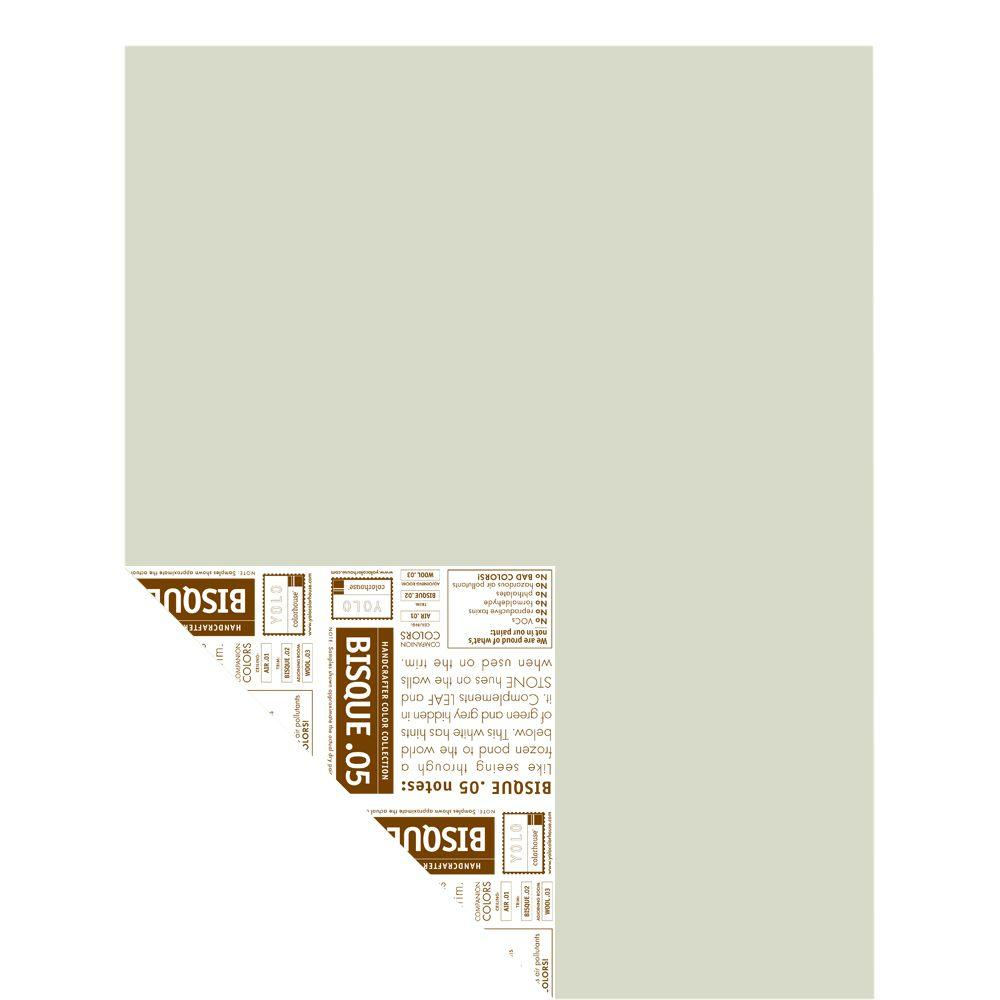 YOLO Colorhouse 12 in. x 16 in. Bisque .05 Pre-Painted Big Chip Sample