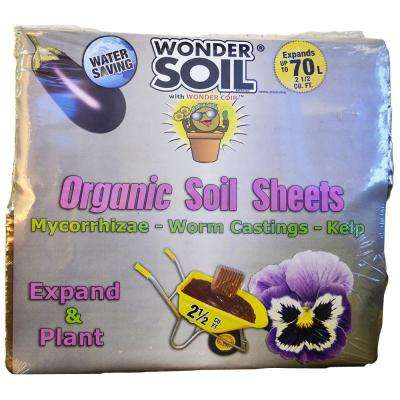 2 cu. ft. Expand and Plant Organic Complete Mix Coco Sheets