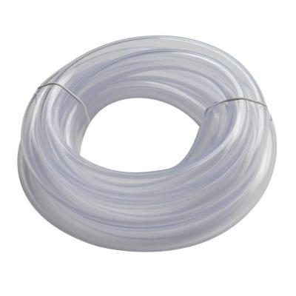 3/4 in. O.D. x 1/2 in. I.D. x 10 ft. Clear PVC Vinyl Tube