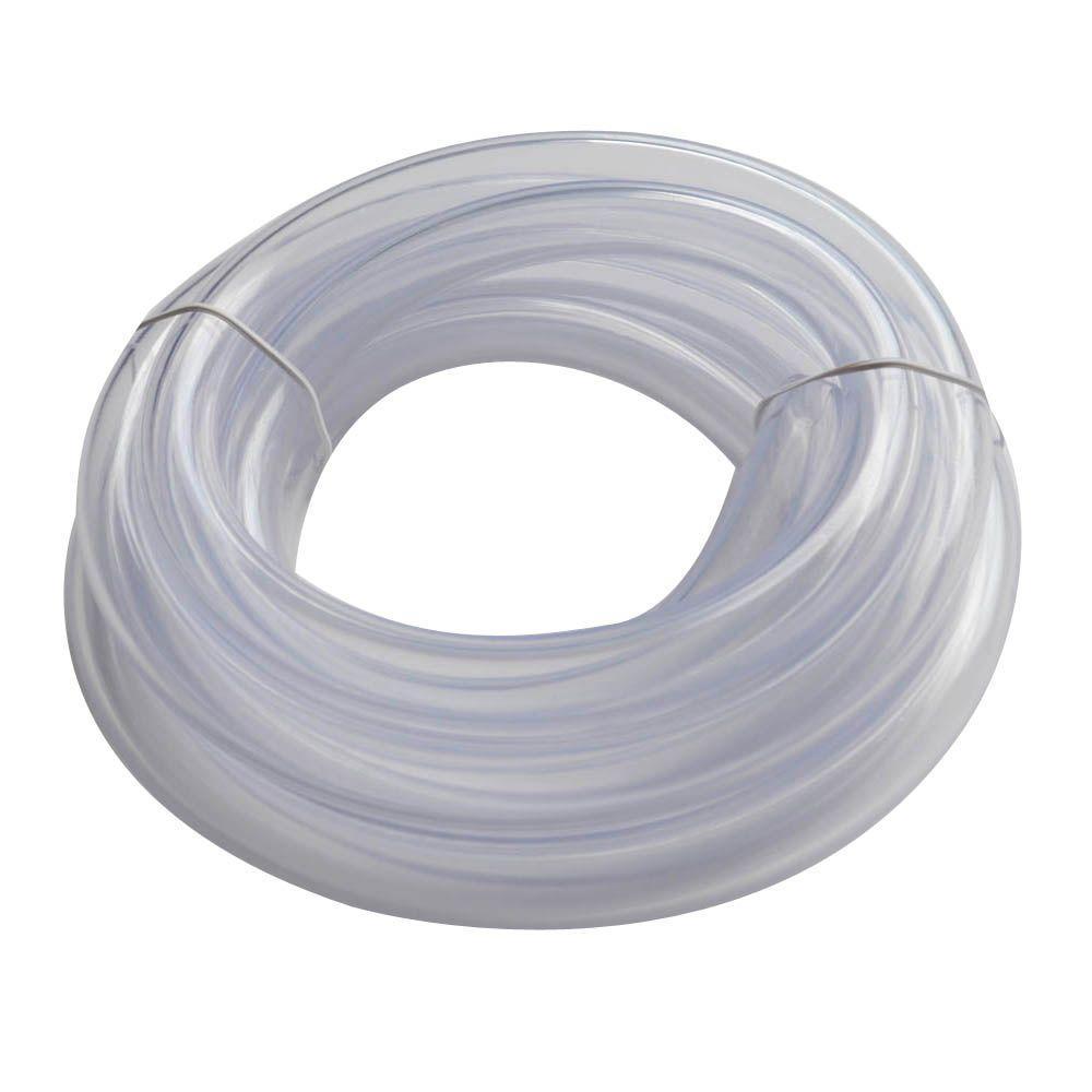 Everbilt 3/4 in. O.D. x 1/2 in. I.D. x 10 ft. PVC Clear Vinyl Tube