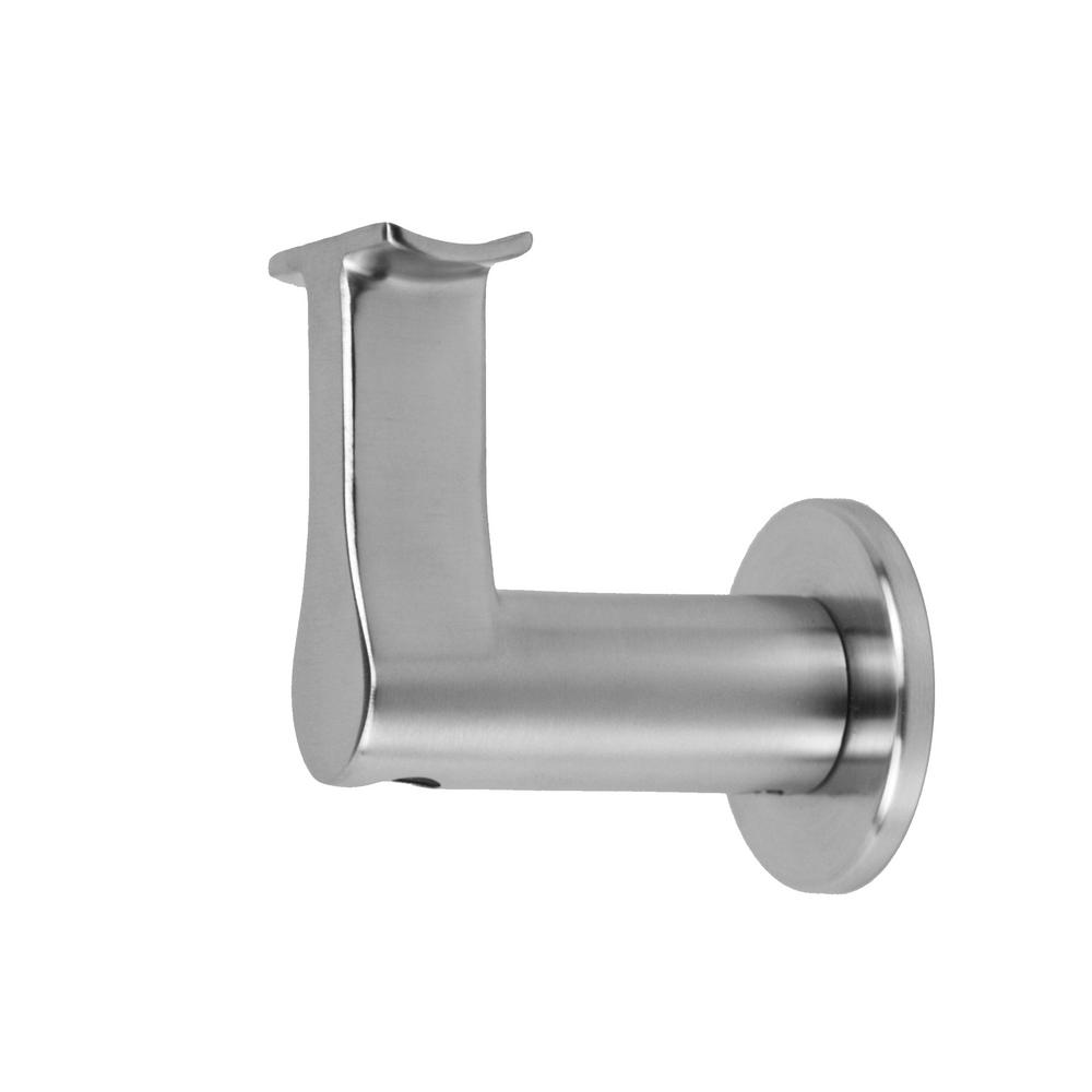 Round Slim 2.5 In. Stainless Steel Handrail Wall Bracket