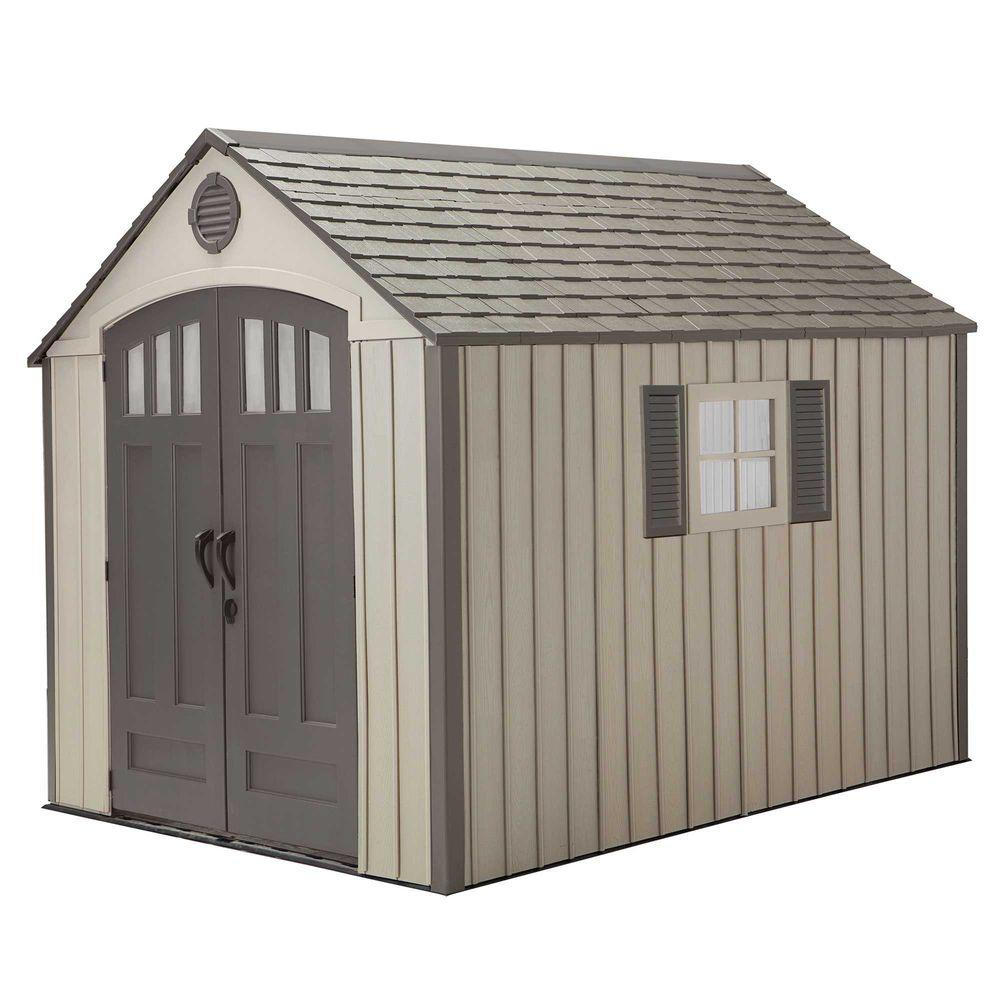 Lifetime 8 ft. x 10 ft. Storage Shed