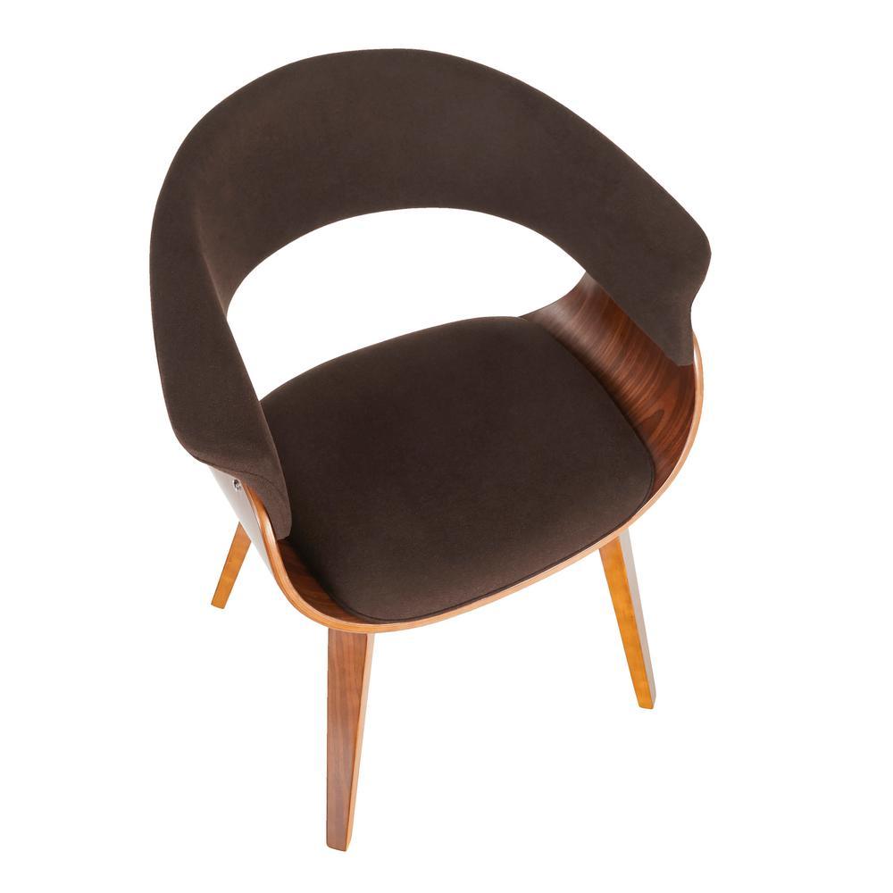 Lumisource Vintage Mod Walnut And