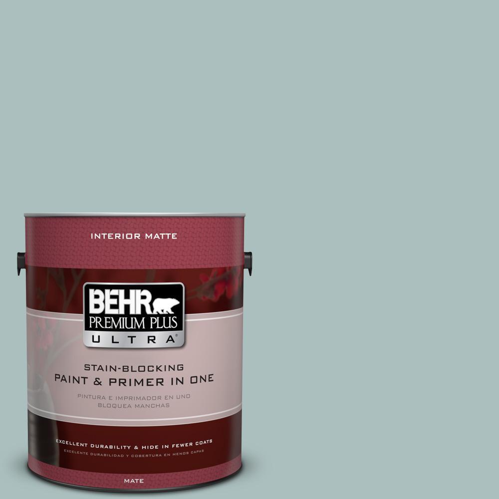 1 gal. #HDC-CL-15G Morning Parlor Matte Interior Paint