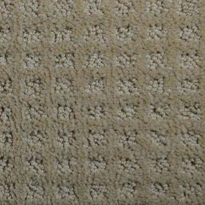 Carpet sample jewels color outer banks pattern 8 in x 8 in