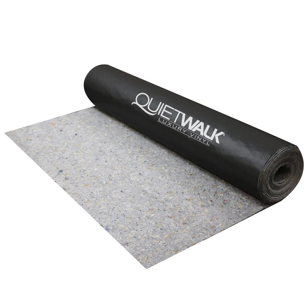 QuietWalk 100 sq. ft. x 3 ft. x 33.34 ft. x 1/16 in. Acoustical Underlayment with Vapor Barrier for Luxury Vinyl Flooring
