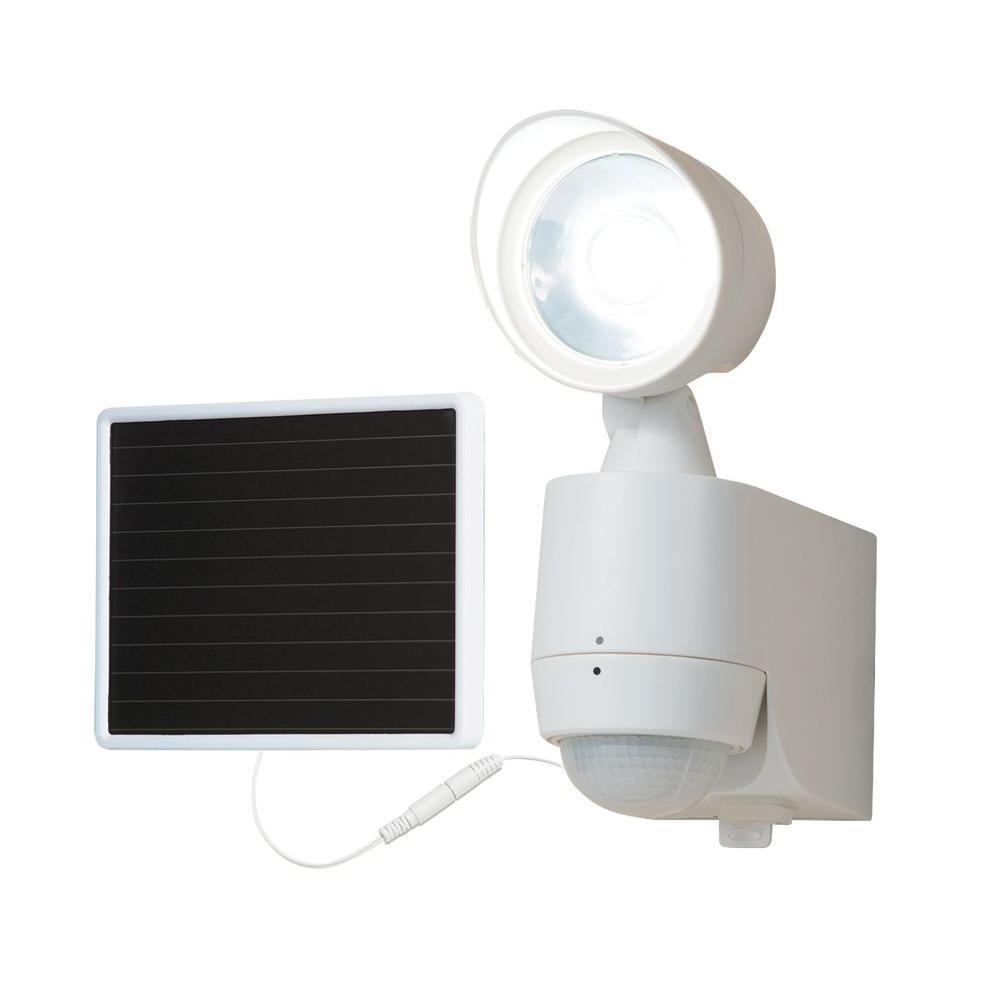 Classy Caps Outdoor Black Solar Motion Sensor Security