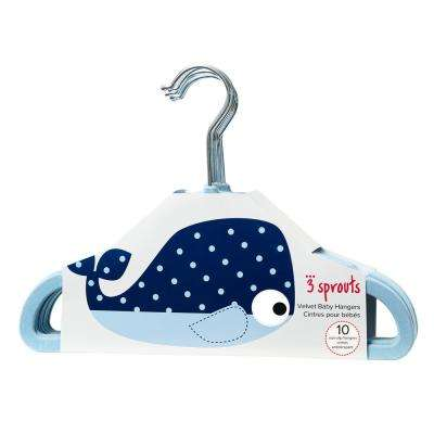 Blue Whale Hangers (pack of 10)