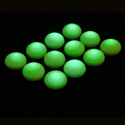 1.25 in. D x 0.875 in. H x 1.25 in. W Green Floating Blimp Lights (12-Count)