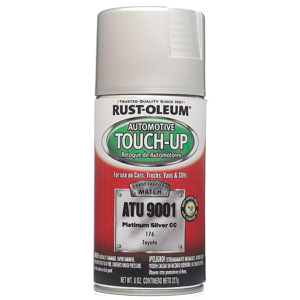 Rust Oleum Automotive 8 Oz Platinum Silver Auto Touch Up