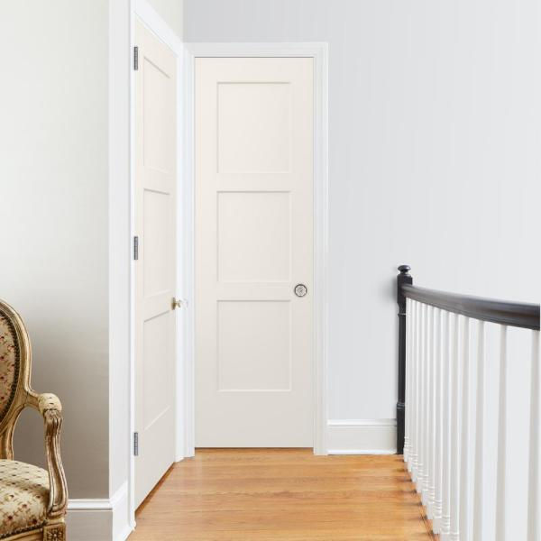 Jeld Wen 24 In X 80 In Birkdale Primed Smooth Solid Core Molded Composite Interior Door Slab Thdjw235300586 The Home Depot