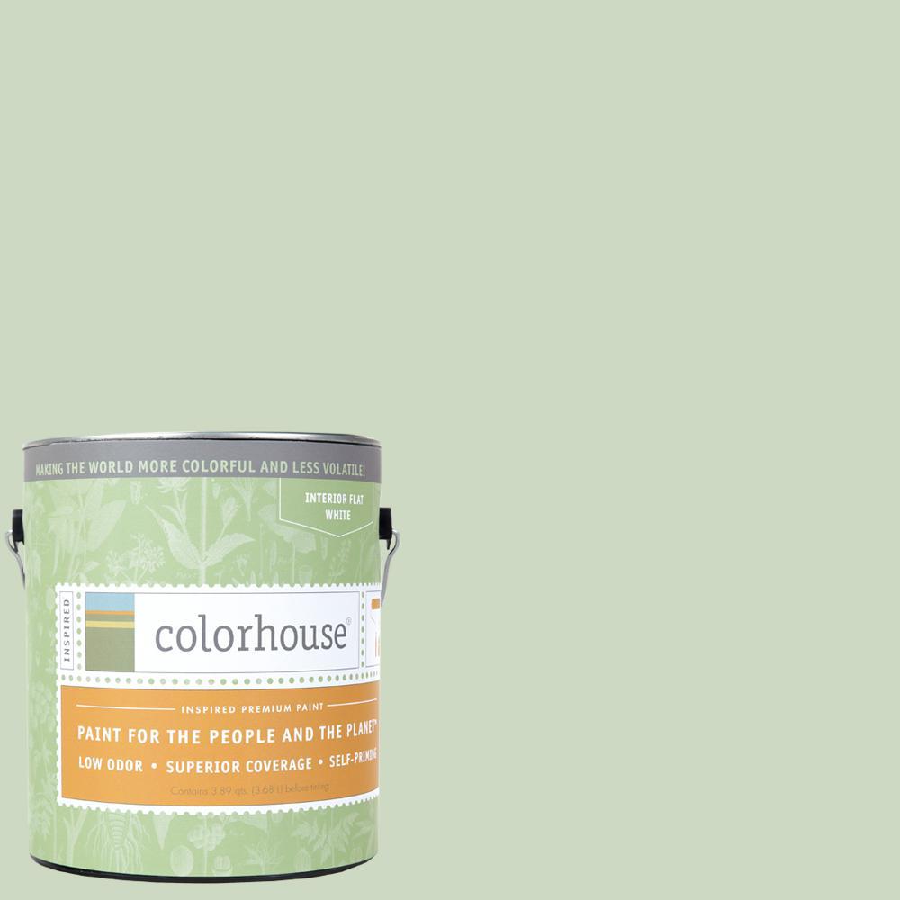 Colorhouse 1 gal. Leaf .06 Flat Interior Paint