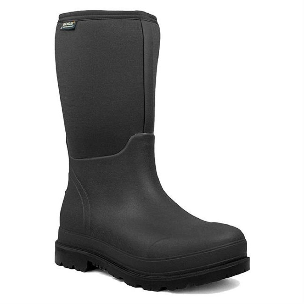 9f7a8a4b10a BOGS SIZE: 7 MEN'S STOCKMAN SAFETY COMP/TOE RUBBER BOOT