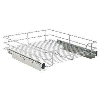 17 In. Chrome Cabinet Roll Out