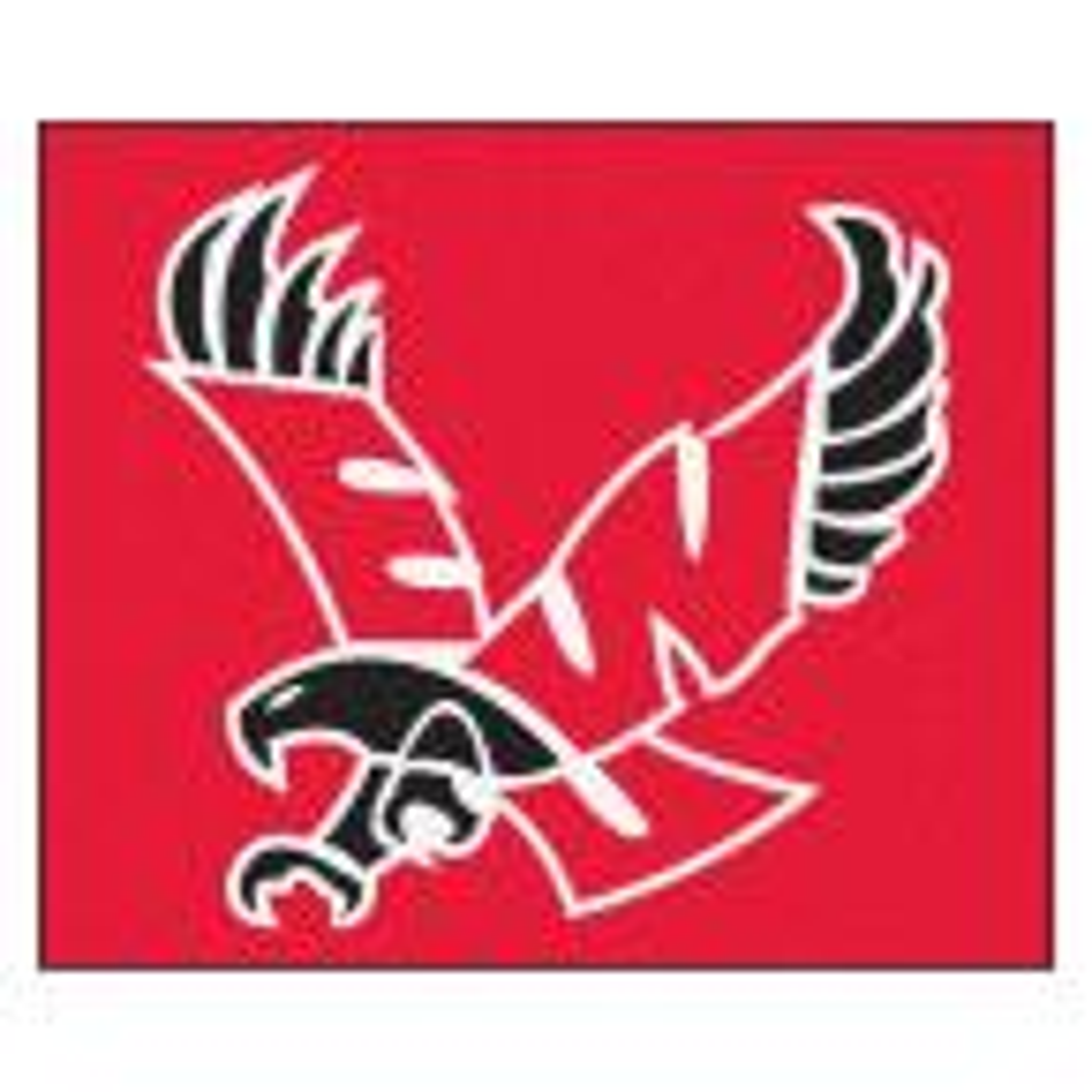 NCAA Eastern Washington University Red 5 ft. x 8 ft. Indoor Tailgater Area Rug