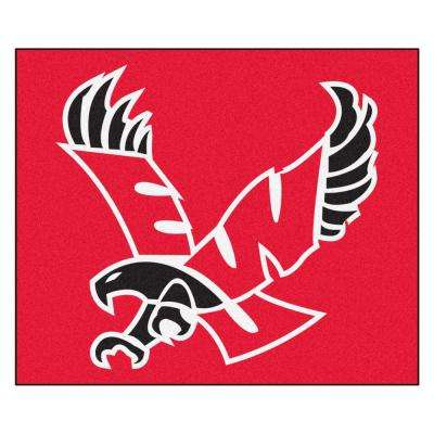 NCAA Eastern Washington University Red 5 ft. x 8 ft. Indoor Tailgater Area Rug