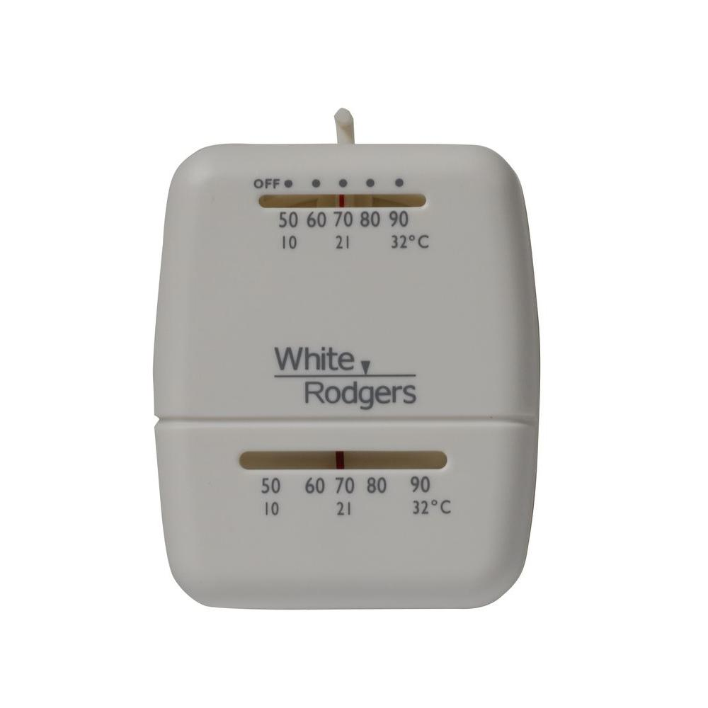 whites white rodgers non programmable thermostats m30 64_1000 white rodgers m30 heat only non programmable thermostat m30 the white rodgers thermostat wiring diagram 1f86-344 at crackthecode.co