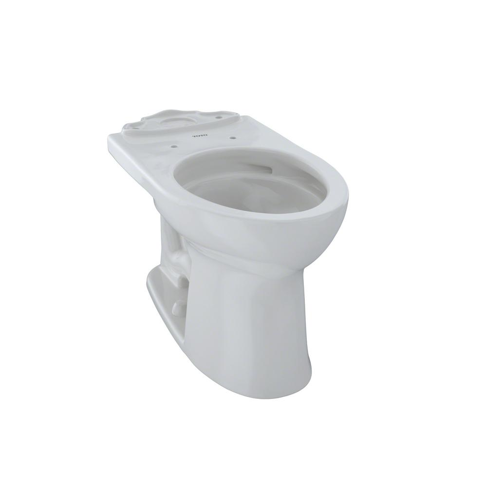 TOTO Aquia II Elongated Toilet Bowl Only in Cotton White-ct416#01 ...