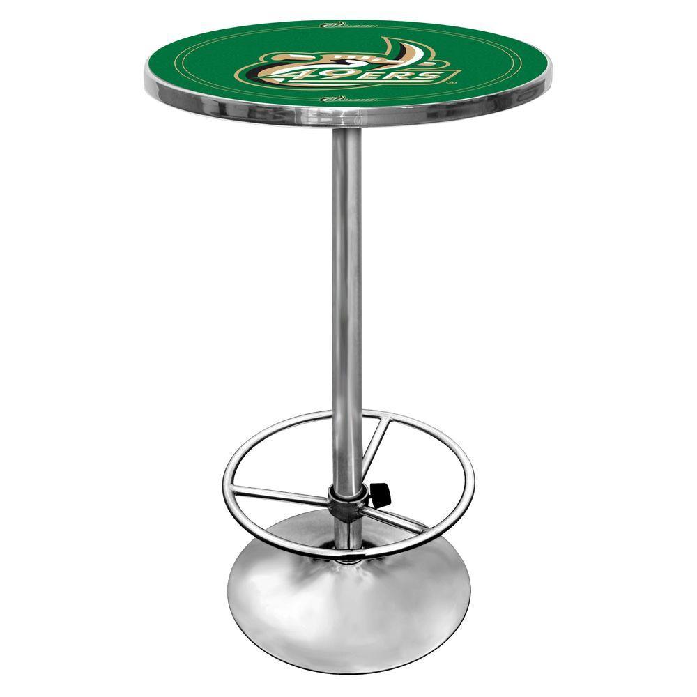 Trademark University of North Carolina Charlotte Chrome Pub/Bar Table