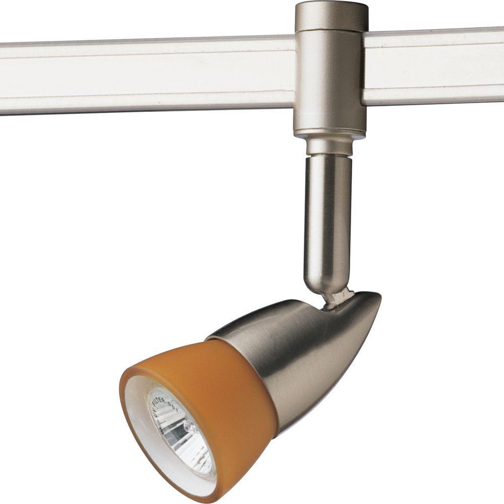 Progress Lighting Illuma-Flex Collection 1-Light Brushed Nickel Spotlight
