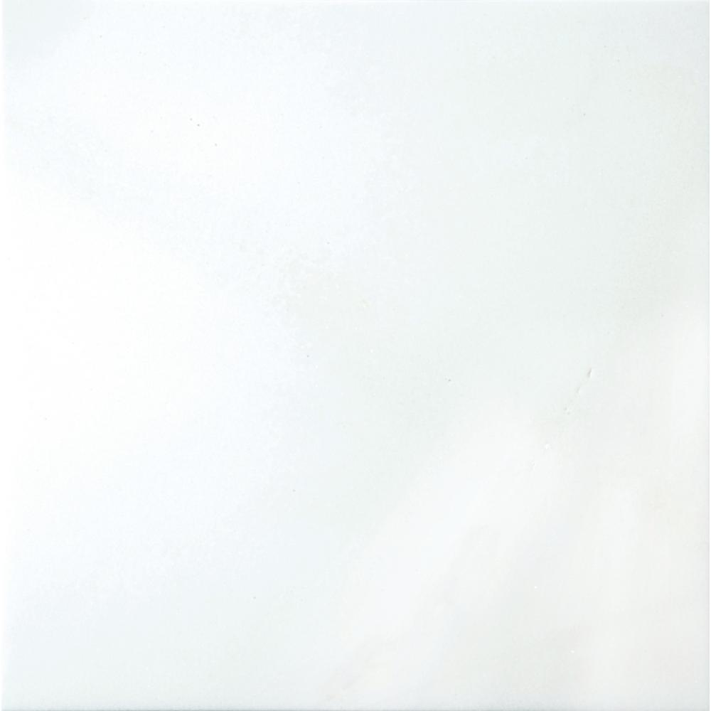 Marble Thassos White Polished 23.62 in. x 23.62 in. Marble Floor