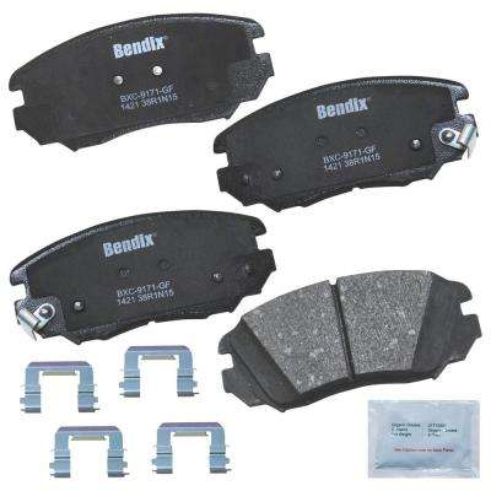Disc Brake Pad Set-Stop Ceramic Brake Pad Front Bendix SBC1083