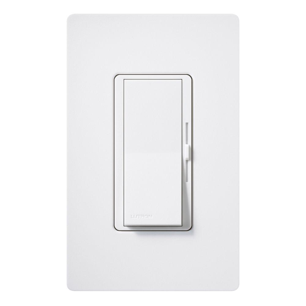 Lutron Diva 300 Watt Single Pole Electronic Low Voltage
