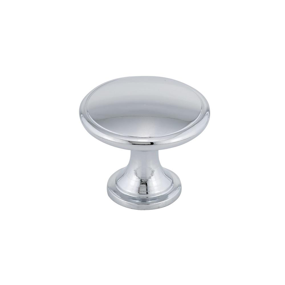 Home Hardware Cabinet Handles: Richelieu Hardware 1-3/4 In. Chrome Cabinet Knob-BP881140