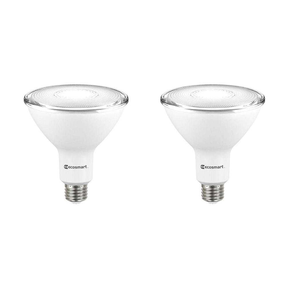 120-Watt Equivalent PAR38 Dimmable LED Flood Light Bulb, Bright White (2-Pack)