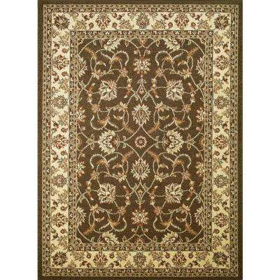 Chester Sultan Brown 6 ft. 7 in. x 9 ft. 3 in. Area Rug