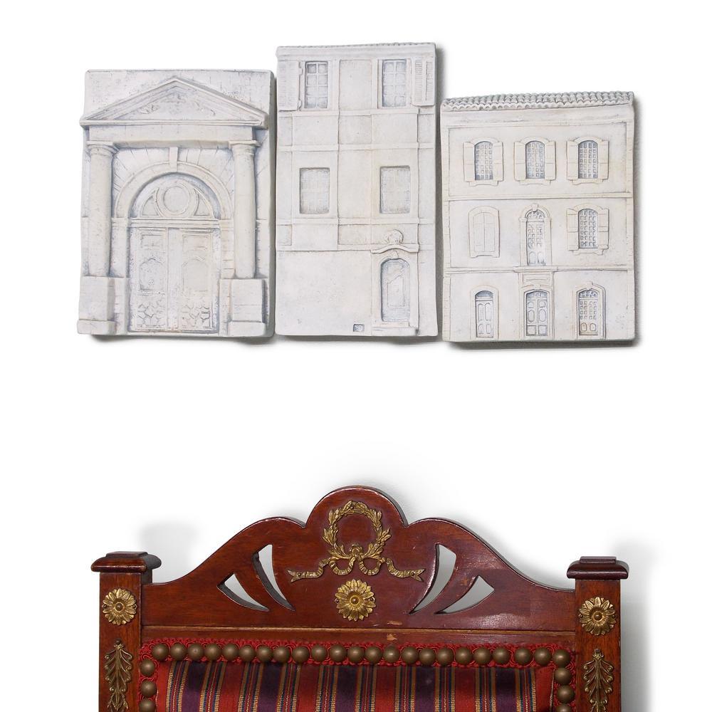 Mini Home Structure Plaque (Set of 3)