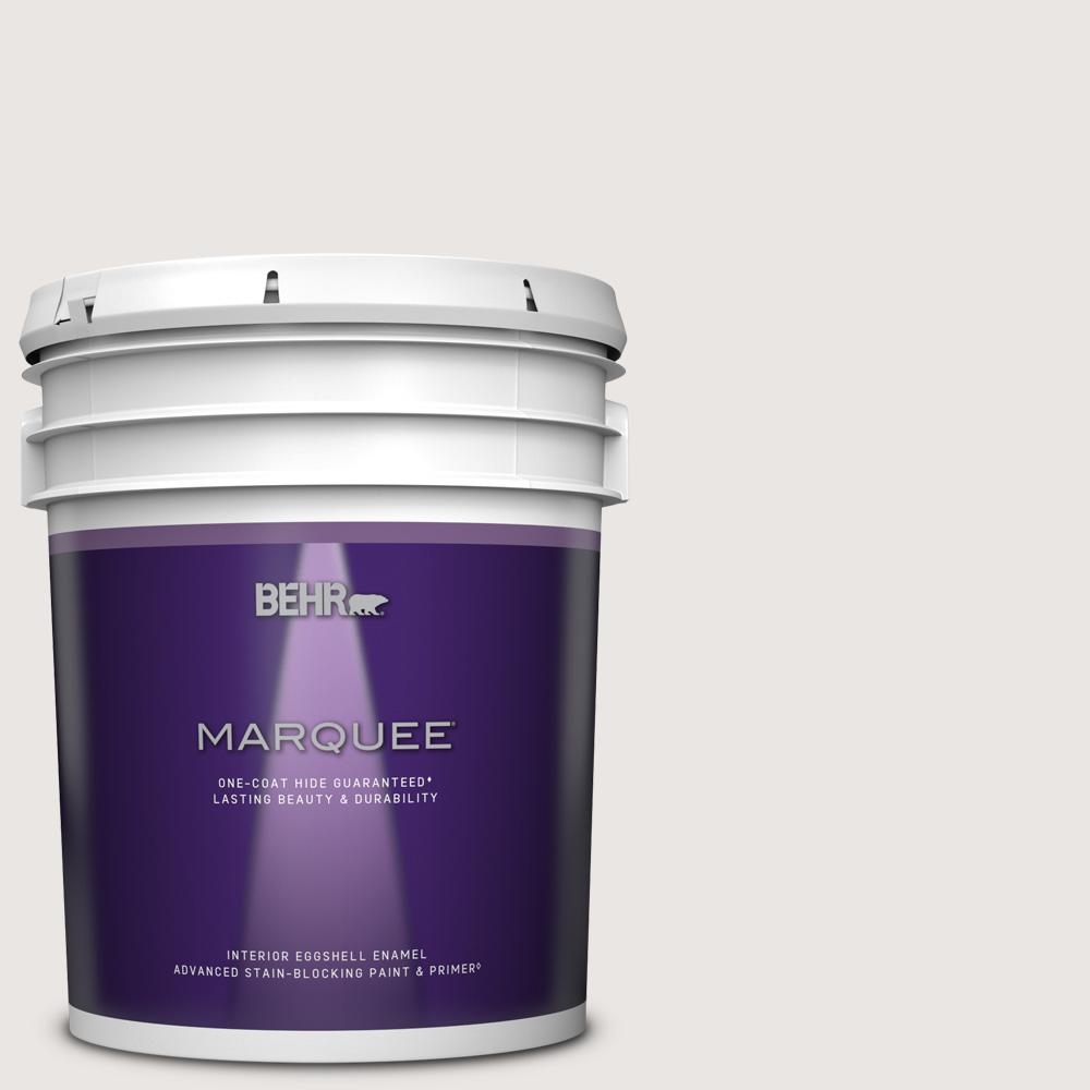 Behr Marquee 5 Gal Ppl 53 Soft Violet Eggshell Enamel Interior Paint And Primer In One 245005 The Home Depot