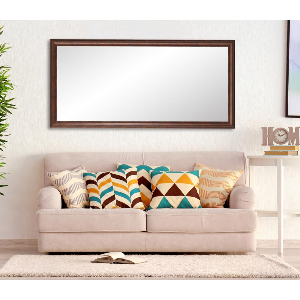 249adc85d7f5 BrandtWorks Vintage Copper Hill Full Length Floor Wall Mirror-BM031TS - The Home  Depot