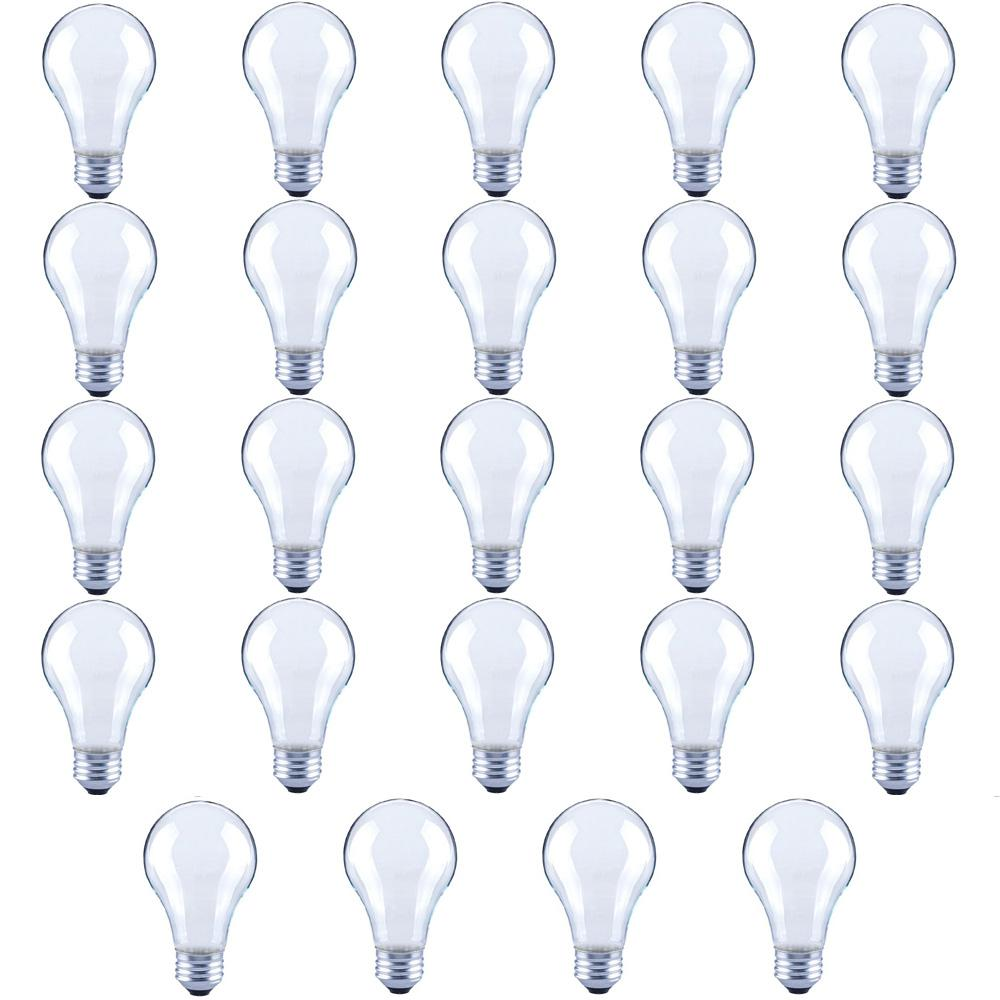 60-Watt Equivalent A19 Frosted Glass Filament Dimmable LED Light Bulb Soft