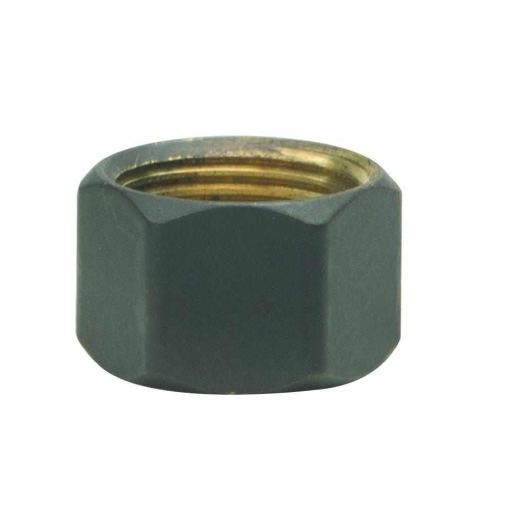 BrassCraft 3/8 in. O.D. Compression Nut in Oil Rubbed Bronze