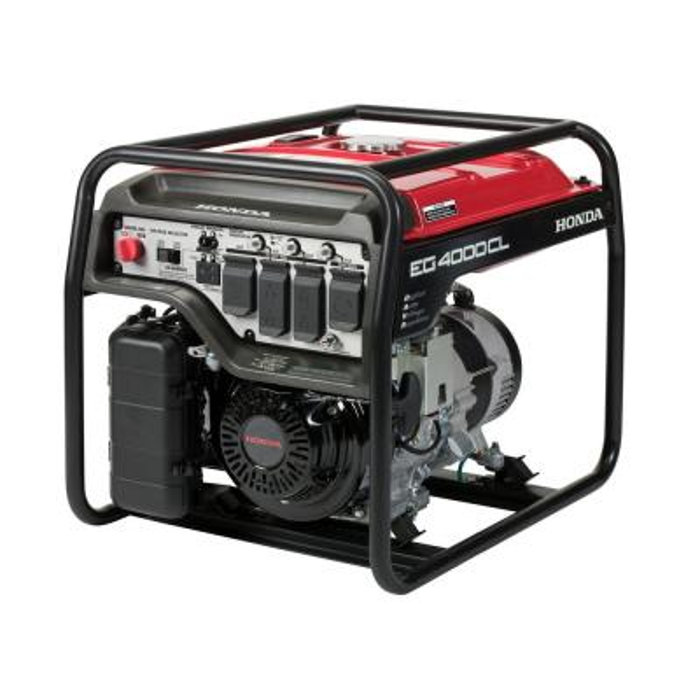 4000-Watt Gasoline Powered Recoil Start Economy Portable Generator
