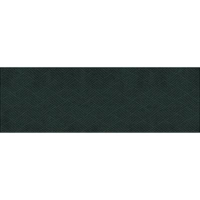 Aqua Shield Diamonds 3 ft. x 8 ft. Runner Evergreen