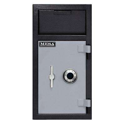 1.3 cu. ft. Combination Lock Depository Safe with Interior Locker