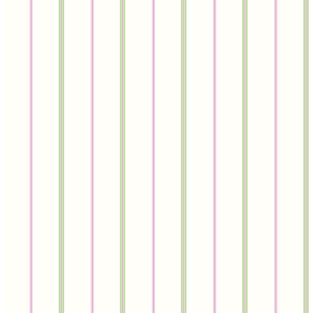 brewster pink little tailor pinstripe wallpaper2679