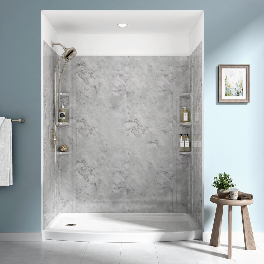 waterproof shower wall panels home depot  wall design ideas