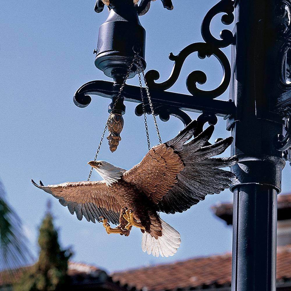 4.8 in. H Flight of Freedom Hanging Eagle Sculpture