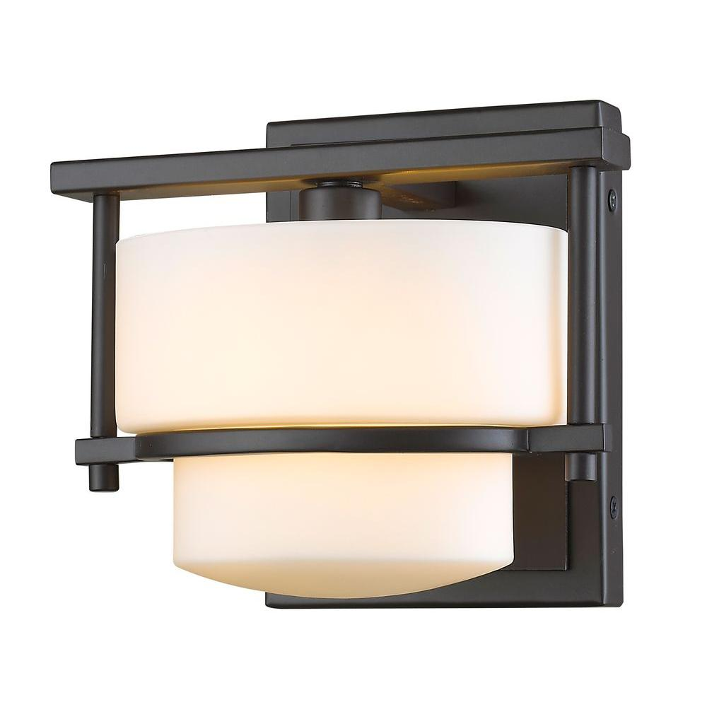 Christen 1 Light Bronze Sconce