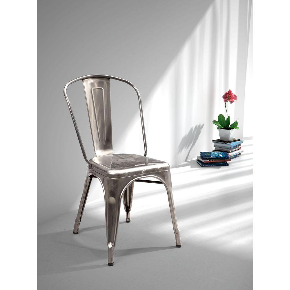 Gold - Dining Chairs - Kitchen & Dining Room Furniture - The Home Depot