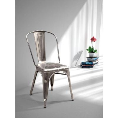 Elio Gunmetal Dining Chair (Set of 2)