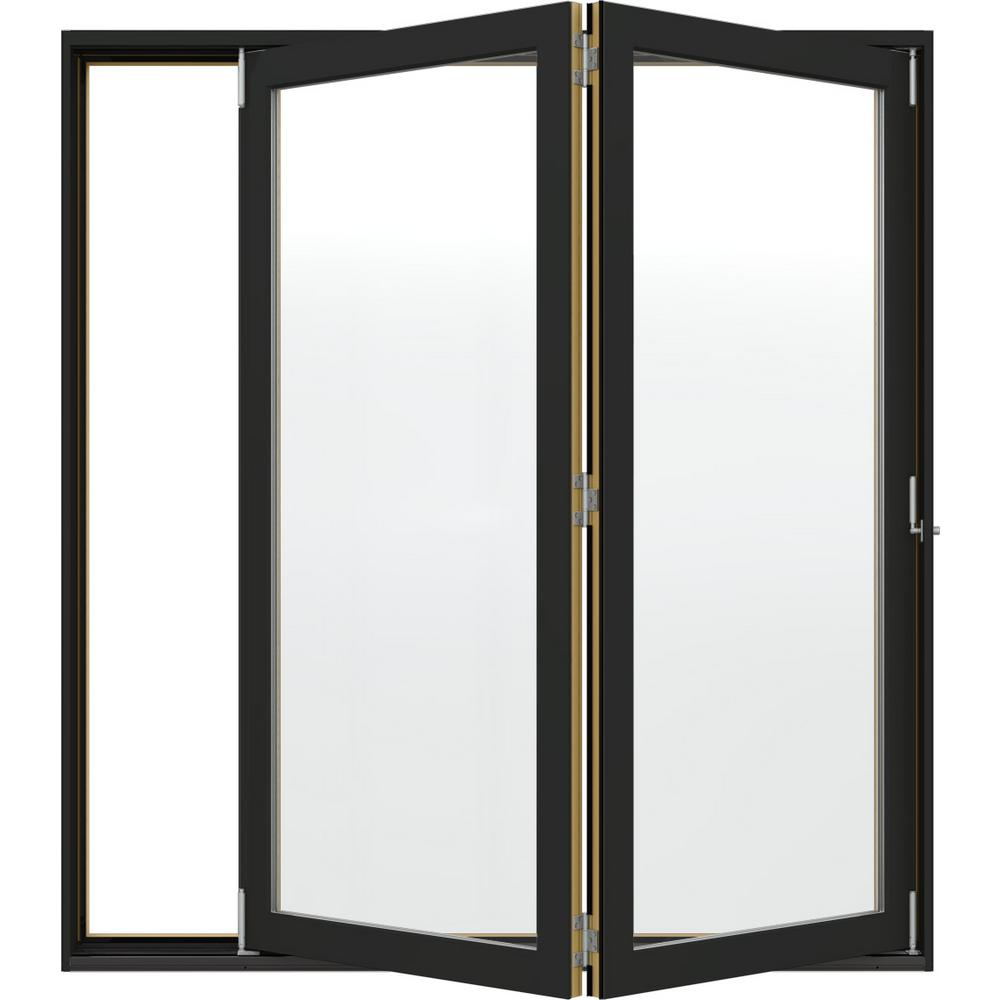 Jeld Wen W 4500 Series Left Hand Folding Wood Patio Door
