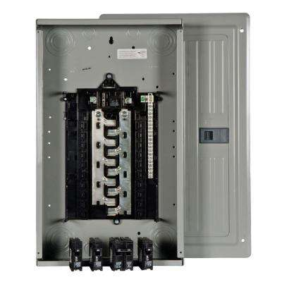 ES Series 100 Amp 20-Space 20-Circuit Main Breaker Load Center Value Pack