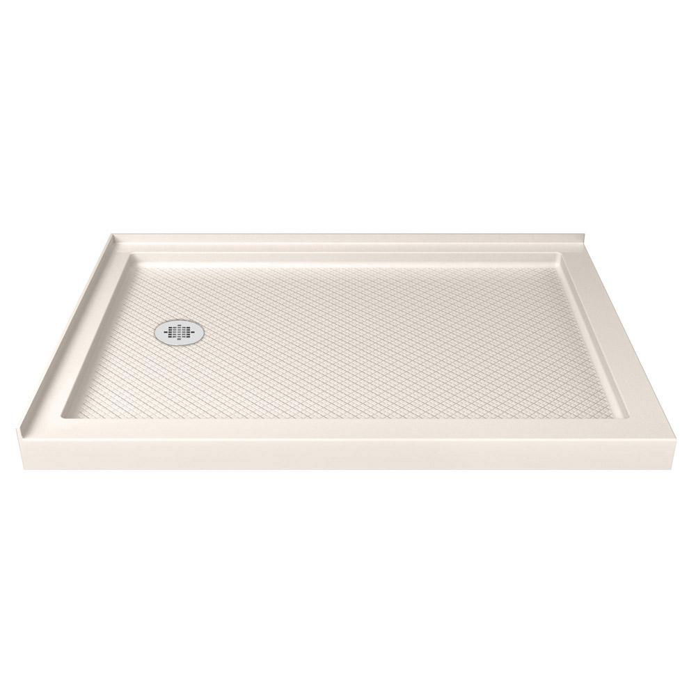 SlimLine 36 in. D x 60 in. W Double Threshold Shower