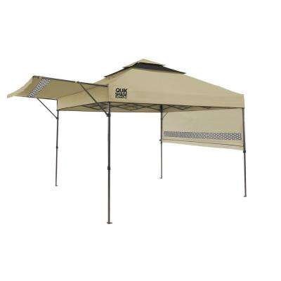 Summit 10 ft. x 17 ft. Instant Canopy in Taupe